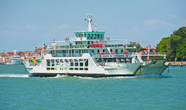 Car ferry in Venice Stock Photo