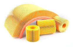 Car filter Royalty Free Stock Photo