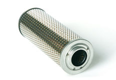 Car filter on white Royalty Free Stock Image