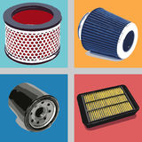 Car Filters Stock Image