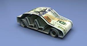 Car Finance Animation stock video footage