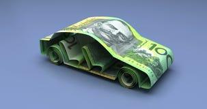 Car Finance Australian Dollars stock video footage