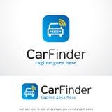 Car Finder Logo Template Design Vector, Emblem, Design Concept, Creative Symbol, Icon. This design suitable for logo, symbol, emblem or icon Stock Images