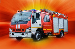 Car fire protection Royalty Free Stock Photos