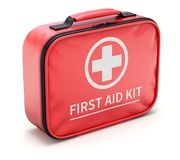 Car First Aid Kit Royalty Free Stock Photos