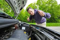 Car fixing Royalty Free Stock Image