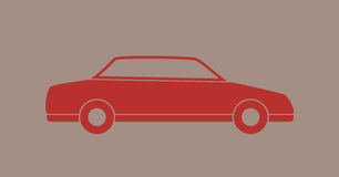Car flat design Royalty Free Stock Images
