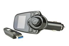 Car FM Transmitter Stock Photography