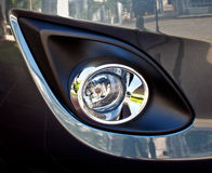 Car fog lamp Stock Image