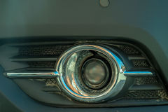 Car fog light Stock Photo