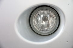 Car Fog lights. Royalty Free Stock Image