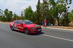 Race directors Car La Vuelta España Stock Image