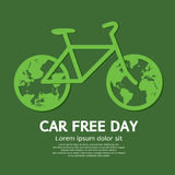 Car Free Day. Vector Illustration stock illustration