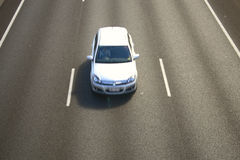Car on freeway Royalty Free Stock Image