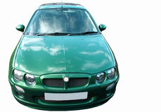 Car front isolated Royalty Free Stock Photography