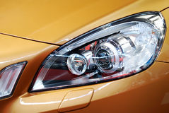 Car front light Stock Photo