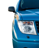 Car Front Light Stock Photo