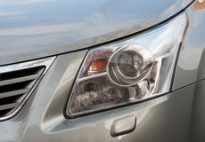 Car Front Light Royalty Free Stock Images