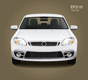 Car front view Stock Photography