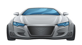 Car front Royalty Free Stock Photo