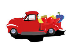 Car fruits Stock Images