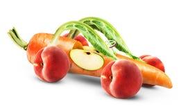 Car fruits Royalty Free Stock Image