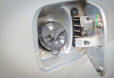 Car fuel cap Stock Photography