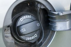 Car fuel filler Royalty Free Stock Photo