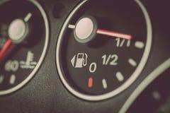 Car fuel gauge Stock Images