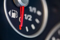 Car fuel gauge Royalty Free Stock Image