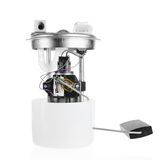 Car fuel pump module. On a white background royalty free stock photo