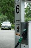 Car at fuel pump Royalty Free Stock Photos