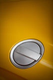Car fuel tank lid Royalty Free Stock Images