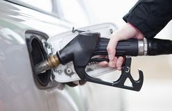 Car fueling Royalty Free Stock Photo