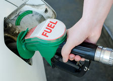 Car fueling Stock Photos