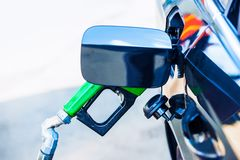 Car Fueling Stock Images