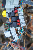 Car fuse box. Close up of the car fuse box Stock Images