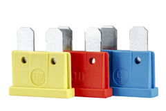 Free Car Fuses, Differentiated By Colors Stock Photography - 35130062