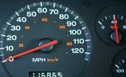 Car gages royalty free stock photo