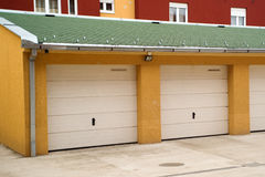 Car garage Stock Image