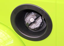 Car Gas Tank Stock Photography