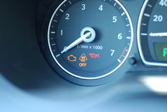 Car gauge Stock Photography