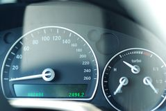 Car gauge Stock Images