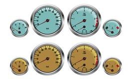 Car gauges Stock Image