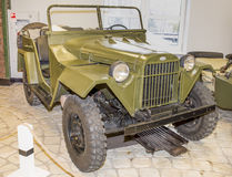 Car GAZ-67B, (1943-1953) Royalty Free Stock Image