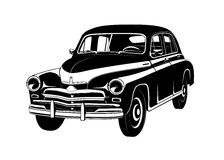 Car gaz 20 vector Stock Photo
