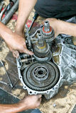 Car Gear Box Repair Royalty Free Stock Images