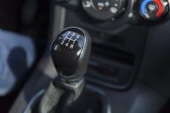 Car gear knob Stock Photos