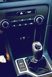 Car gear shift stick Royalty Free Stock Image