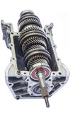 Car gearbox inner. On isolated background stock images